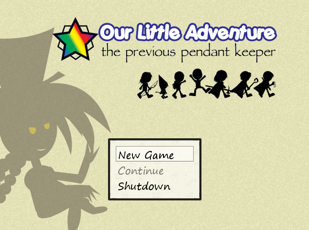 The Game's Title Screen